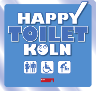 """HappyToilet Cologne"""
