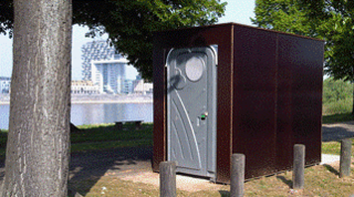 Toilets in green spaces and parks